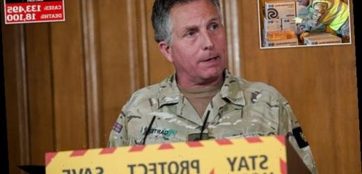 Head of Army says PPE NHS crisis is biggest logistical challenge ever