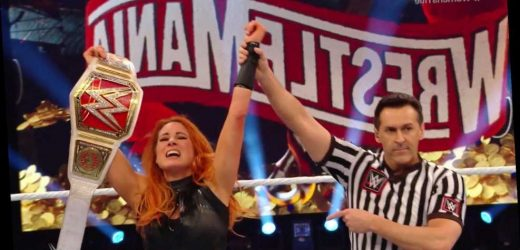 WrestleMania 36 results: Becky Lynch retains Raw Women's Title against Shayna Baszler but fans left fuming – The Sun