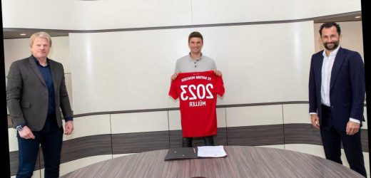 Thomas Muller signs new Bayern Munich contract while perfectly implementing social distancing amid coronavirus crisis – The Sun