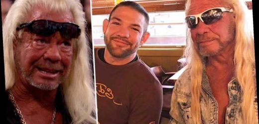 Dog The Bounty Hunter shares throwback photo with cage fighter son Leland as he continues to mend family feud – The Sun