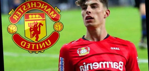 Man United add Kai Havertz to transfer target list with star in 'constant communication' with Leverkusen over his future – The Sun
