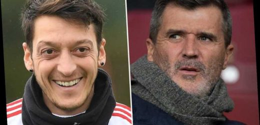 Roy Keane defends £300k-a-week Arsenal star Ozil in pay cut row as Man Utd legend reveals he wouldn't slash wages – The Sun