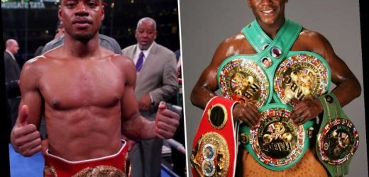 Errol Spence Jr claims he would beat prime Floyd Mayweather by 'breaking him down physically' as he's too mentally tough – The Sun