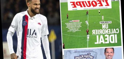 Ligue 1 set to restart on 17 June and finish season in one month after coronavirus delay – The Sun