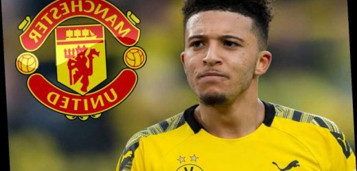 Man Utd transfer target Jadon Sancho 'has agreement with Dortmund to leave if Red Devils launch record bid' – The Sun