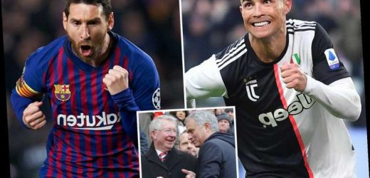 Cristiano Ronaldo vs Lionel Messi: World's top managers including Ferguson and Mourinho have their say on 'GOAT' debate – The Sun