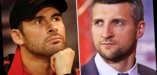 Eddie Hearn reveals five blockbuster virtual press conferences he is in talks over including Carl Froch vs Joe Calzaghe – The Sun