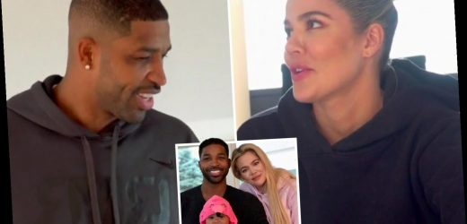 Khloe Kardashian gets 'freaked out' when Tristan jokes about 'kidnapping' True during first visit alone in Cleveland – The Sun