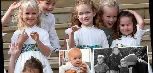 Princess Charlotte already has a pretty impressive crew of cousins and siblings – The Sun