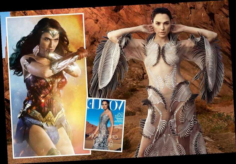 Wonder Woman star Gal Gadot wows in glossy new shoot for US Vogue mag – The Sun