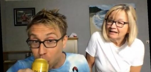 TV viewers shocked as Russell Howard swigs cider at 9.15am during interview with Lorraine Kelly – The Sun