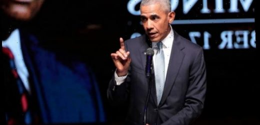 Barack Obama Reveals He's A Silver Fox With Full Head Of Gray Hair While Urging People To Remain 'Resilient'