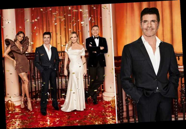 Simon Cowell looks slimmer than ever as he joins Britain's Got Talent judges and Ant and Dec for glam shoot – The Sun