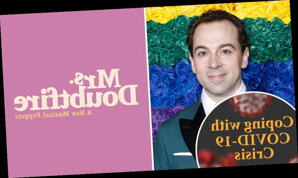 Coping With COVID-19 Crisis: Broadway's 'Mrs. Doubtfire' Star Rob McClure Knows He's A Lucky Guy, But Still…