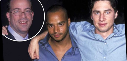 Donald Faison drunkenly gave Jeff Zucker a noogie at the 2001 Upfronts