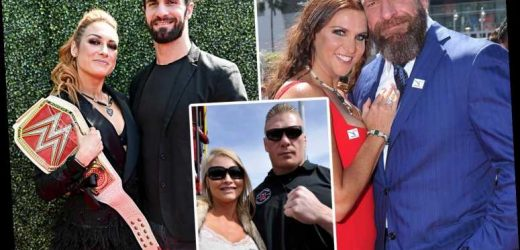 WWE real life power couples: From Brock Lesnar marrying Sable to Triple H and Stephanie McMahon together with children – The Sun