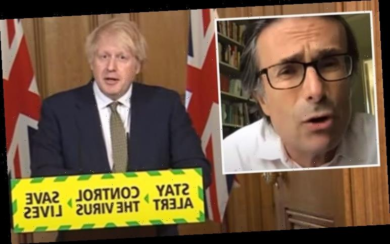 Robert Peston suffers awkward blunder during Boris Johnson briefing 'Couldn't hide dismay'