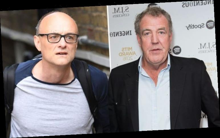 Jeremy Clarkson blasts 'laughing stock' Dominic Cummings after 'ridiculous' eye test story