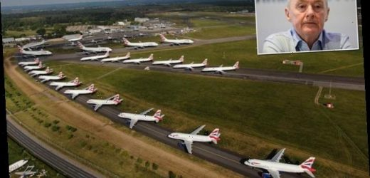 British Airway 'could resume flying at 50 per cent capacity in July'