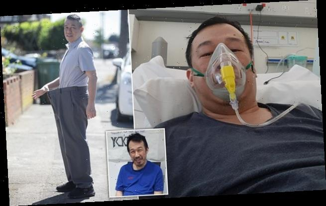 City worker loses five stone in five weeks as he battles Covid-19