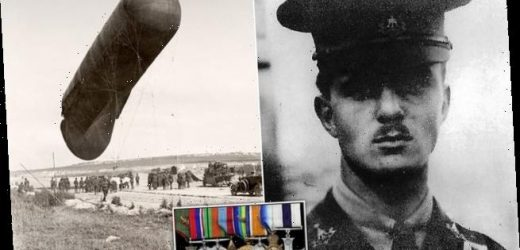 WWI hero pilot's bravery medals sell for over £5,000 at auction