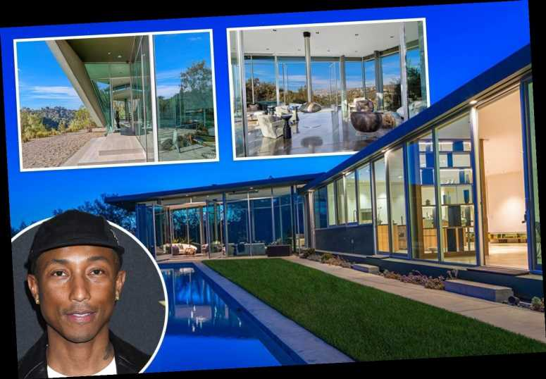 Inside Pharrell Williams' $12M Hollywood Hills mansion with infinity pool and outdoor cinema – The Sun