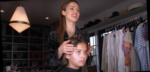 Jessica Alba Gives Her Daughters At-Home Cuts: 'I Bow Down to Hairdressers'