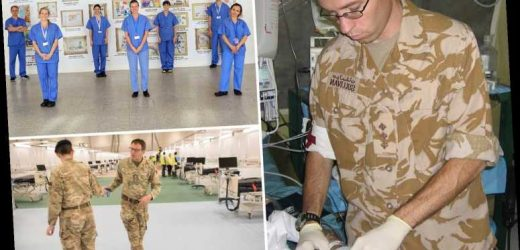 I've commanded critical care units in major war zones but nothing could prepare me for working in NHS Nightingale – The Sun