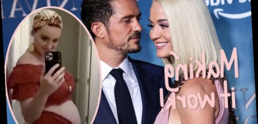 Katy Perry Shows Off Her Baby Bump AND Reveals How Quarantine Has Made Her Relationship With Orlando Bloom Str