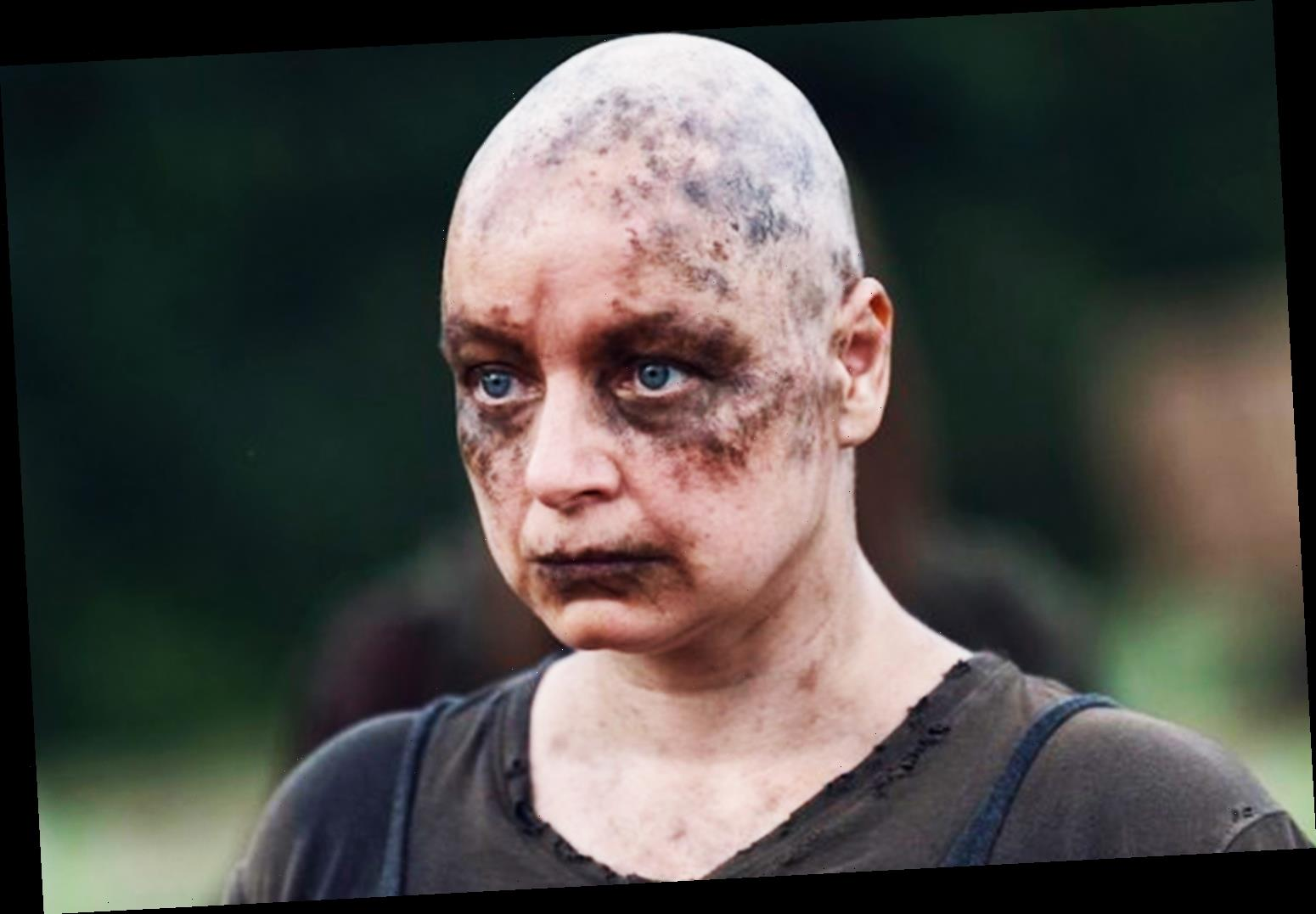 The Walking Dead's Samantha Morton 'in trouble' after shaving head and eyebrows to transform into Alpha backfires