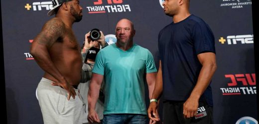 UFC Fight Night – Overeem vs Harris: Live stream FREE, TV channel, UK start time and fight card from Jacksonville