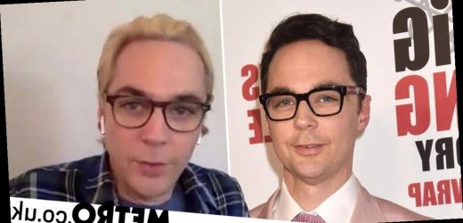 The Big Bang Theory's Jim Parsons goes blonde to jazz things up with husband