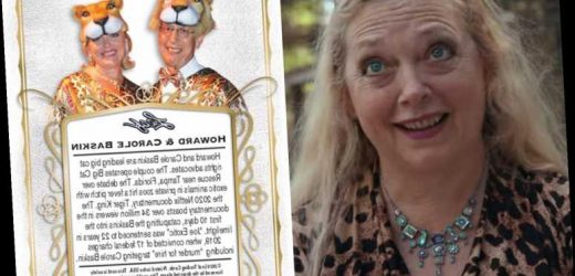 Tiger King's Carole Baskin trading cards sell out in 24 minutes for $99 dollars each – The Sun