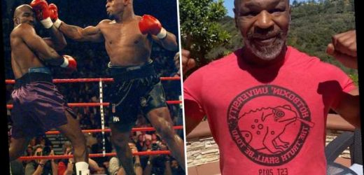 Mike Tyson keen on 'awesome' Evander Holyfield bout to raise money for charity as ring legends eye third fight – The Sun
