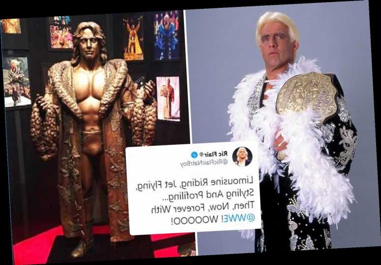Ric Flair, 71, signs 'lifetime' WWE contract just days after 'Final Farewell' documentary was announced – The Sun