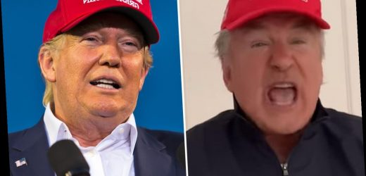 Alec Baldwin breaks character after mocking Trump on SNL and suggests he played president 'one last time' – The Sun