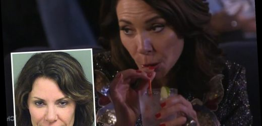 RHONY's Luann de Lesseps takes first sips of alcohol after sobriety and says vodka 'tastes so good' – The Sun