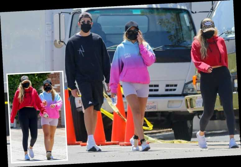Sofia Richie looks carefree with gal pal and male companion as Scott Disick 'hasn't figured out next move' post rehab