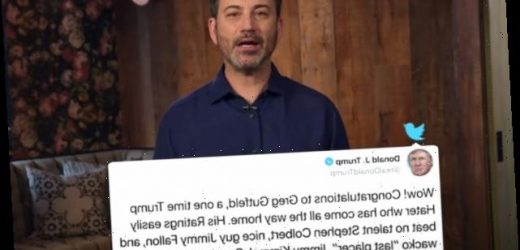 'Wacko' Jimmy Kimmel Responds to Trump Attack, Fixes 'Typo' With Lament Over Pandemic Deaths