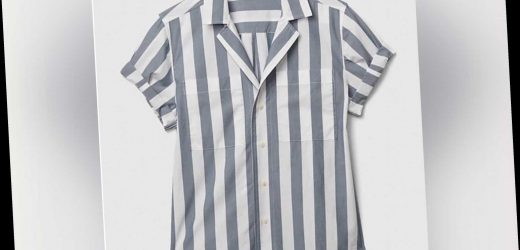 This Gap 'camp shirt' looks cringingly similar to an Auschwitz uniform