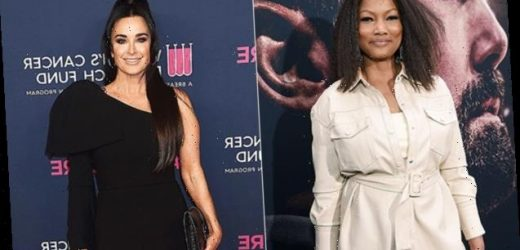 'RHOBH's Garcelle Beauvais Admits She's Not Speaking To Kyle Richards After Shading Her On 'WWHL'