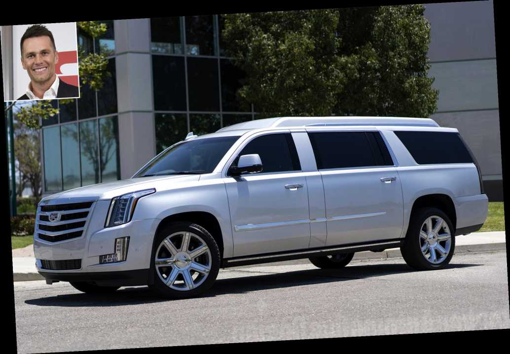 Tom Brady Is Selling His Custom Cadillac Escalade — with 2 TV Screens and Internet — for $300,000
