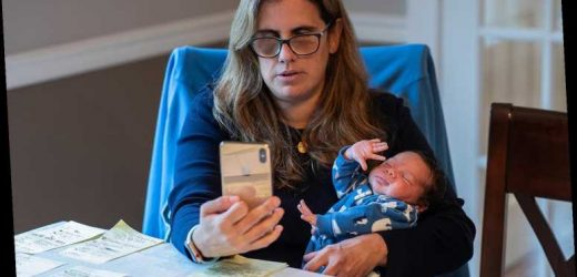 Teacher Cares for Student's Newborn Brother While Their Mother Recovers from Coronavirus