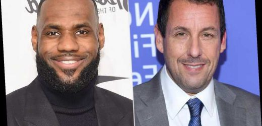 Adam Sandler Teams with LeBron James for His Next Netflix Movie Hustle