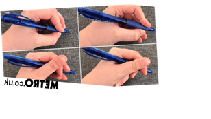 Apparently there are names for the ways different people hold their pen – which one are you?
