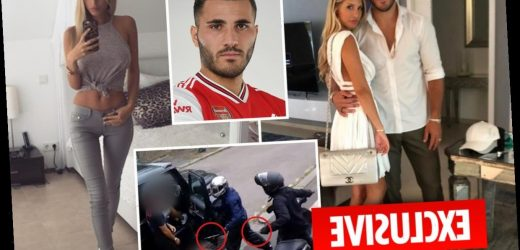Arsenal ace Sead Kolasinac's wife held by police at airport after bringing stun gun into UK – The Sun