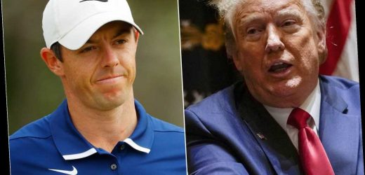 Rory McIlroy takes swing at old golfing pal President Trump