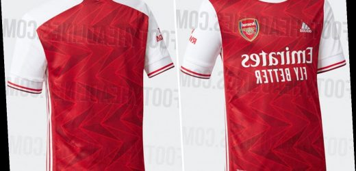 Arsenal 2020-21 home kit 'leaked' and fans are split over design with one claiming 'awful strip for useless players' – The Sun