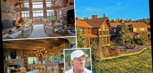 Inside golf legend Greg Norman's incredible £32m, 12,000 acre hunting estate including private fishing river and saloon – The Sun