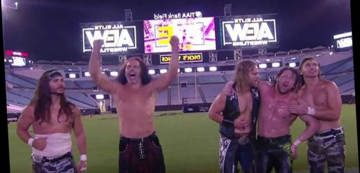 Wild Stadium Stampede match steals show at AEW Double or Nothing